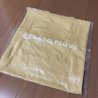 gelato pique - ジェラートピケ  トートバッグ 黄色