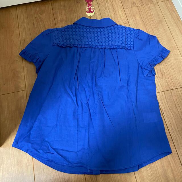 DOLLY GIRL BY ANNA SUI(ドーリーガールバイアナスイ)のドーリーガールバイアナスイ  ブルートップス レディースのトップス(シャツ/ブラウス(半袖/袖なし))の商品写真