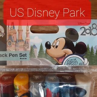 ディズニー(Disney)のUS Disney  6pack  Pen  Set 新品未使用(ペン/マーカー)