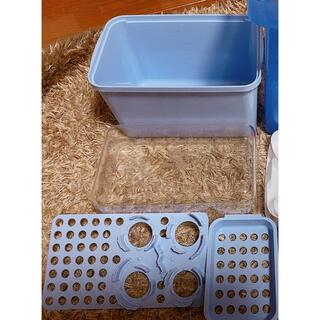 ニシマツヤ(西松屋)のchuchu哺乳瓶用消毒ケース(哺乳ビン用消毒/衛生ケース)