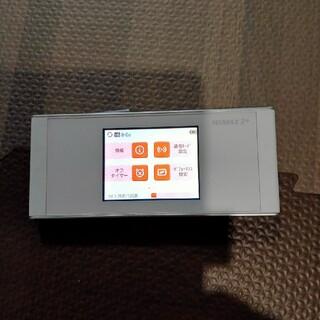 ファーウェイ(HUAWEI)のモバイルWiFi WiMAX Huawei W05 ※クレードルは別売り(PC周辺機器)