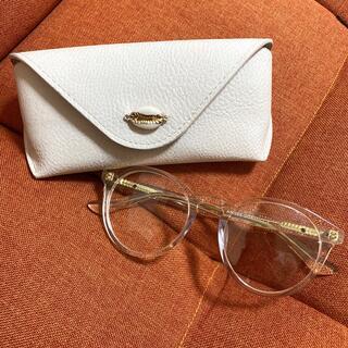 アリシアスタン(ALEXIA STAM)のALEXIASTAM Boston Frame Sunglasses Clear(サングラス/メガネ)