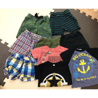 UNIQLO - 男の子 夏服まとめ売り サイズ80