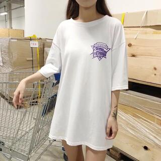 ディーホリック(dholic)の韓国 カジュアル Tシャツ(Tシャツ(半袖/袖なし))