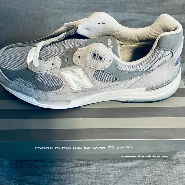 New Balance(ニューバランス)のNew Balance M992GR 27.5cm メンズの靴/シューズ(スニーカー)の商品写真