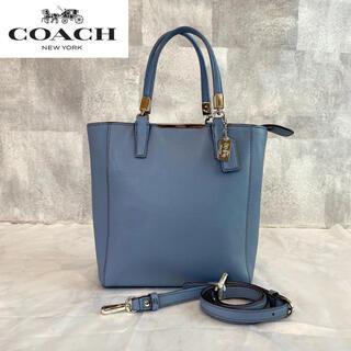 COACH - 【COACH】コーチ 2way マディソン ライトブルーハンドバッグ 29001