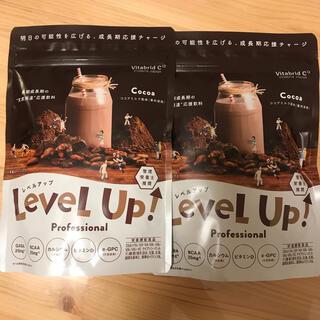 2袋セット レベルアップ プロフェッショナル ミルクココア風味