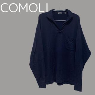 コモリ(COMOLI)のCOMOLI ポロ ロンT(Tシャツ/カットソー(七分/長袖))