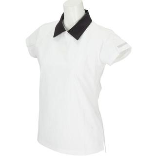 ルコックスポルティフ(le coq sportif)のルコックゴルフ Le coq GOLF ストレッチ半袖シャツ ホワイト S(ウエア)