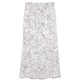 snidel - ❣️即発送完売21新作正規スナイデルsnidelラインフラワーナロースカート