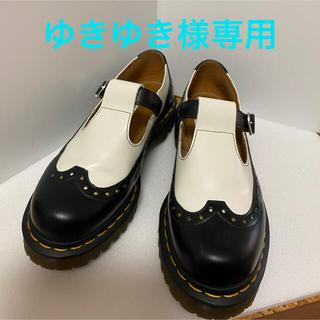 ドクターマーチン(Dr.Martens)の【美品】ドクターマーチン メリージェーン UK6 Tバー(ローファー/革靴)
