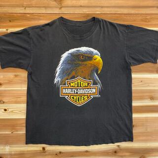 Harley Davidson - ハーレーダビッドソン Tシャツ 90年代 両面プリント