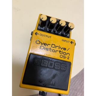 ボス(BOSS)のBOSS OverDrive Distortion OS-2(エフェクター)