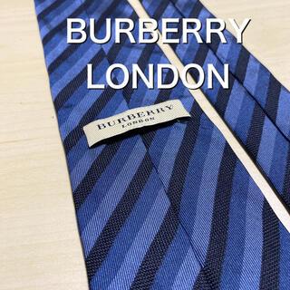 バーバリー(BURBERRY)のBURBERRY LONDON 3色レジメンタル ネクタイ(ネクタイ)