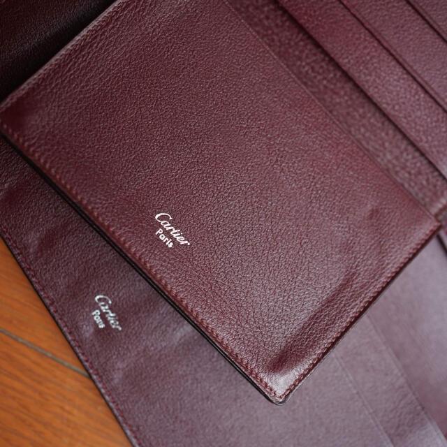 Cartier(カルティエ)のカルティエの財布とカードケースセット メンズのファッション小物(長財布)の商品写真
