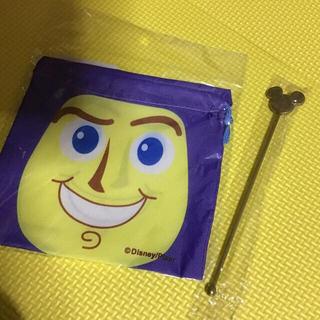 ディズニー(Disney)のトイストーリー 小さい袋 ♡ ミッキー タンブラー  セットでお譲りします(その他)