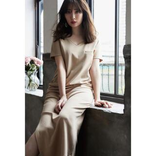 snidel - Her lip to☆T-Shirt Long Dress Tシャツワンピース