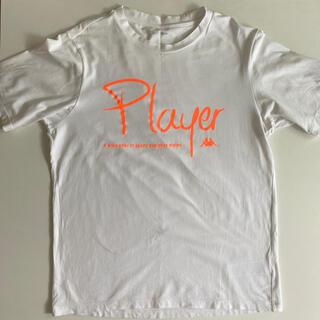 カッパ(Kappa)のカッパほぼ新品*ホワイトTシャツ(Tシャツ/カットソー(半袖/袖なし))