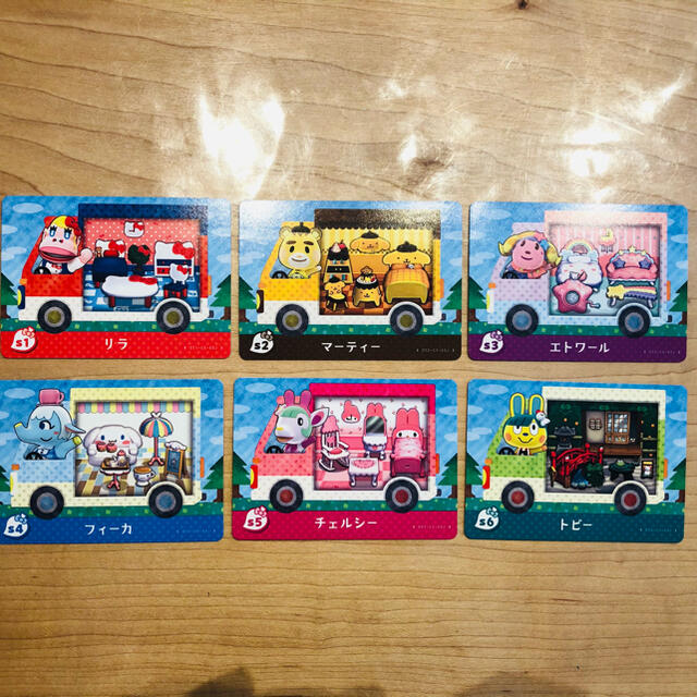 Nintendo Switch(ニンテンドースイッチ)のあつ森amiiboカードサンリオ コンプリート エンタメ/ホビーのトレーディングカード(その他)の商品写真