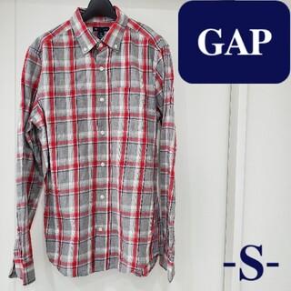 ギャップ(GAP)のGap シャツ チェック S 綿100% 古着 古着女子 ユニセックス メンズ(シャツ)