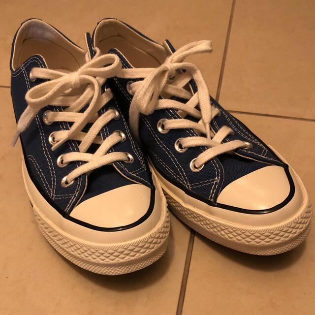 CONVERSE(コンバース)のコンバース  ct70 chuck taylor ブルー  24cm レディースの靴/シューズ(スニーカー)の商品写真