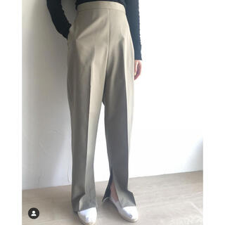 Ron Herman - iirot cotton linen OX slit trouser
