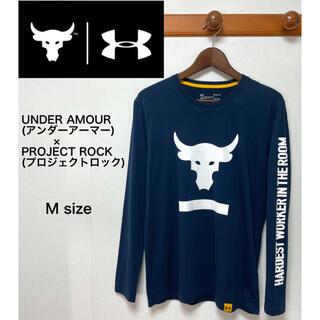 アンダーアーマー(UNDER ARMOUR)のUNDER AMOUR アンダーアーマー  プロジェクトロック Tシャツ ロンT(Tシャツ/カットソー(七分/長袖))