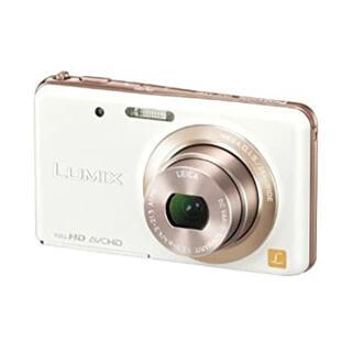 パナソニック(Panasonic)のナソニック デジタルカメラ ルミックス キャンドルホワイト DMC-FX80(コンパクトデジタルカメラ)