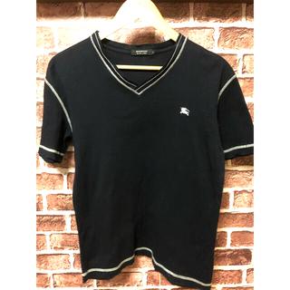 バーバリー(BURBERRY)の美品 バーバリー シャツ ブラック カラー Mサイズ相当(シャツ)