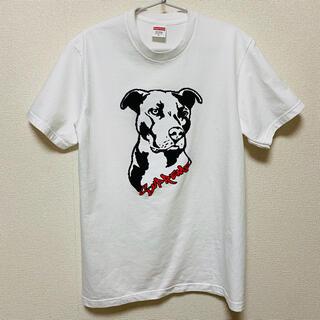 シュプリーム(Supreme)のSupeeme Pitbull Tee White Small(Tシャツ/カットソー(半袖/袖なし))