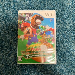 ウィー(Wii)のスーパーマリオスタジアムファミリーベースボール Wii(家庭用ゲームソフト)
