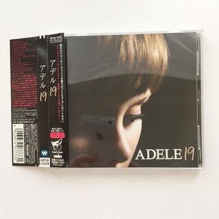 中古美品 ADELE アデル CD  帯あり デビューアルバム(ポップス/ロック(洋楽))