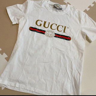 Gucci - ☆未使用新品☆ GUCCI ロゴ Tシャツ 男女兼用