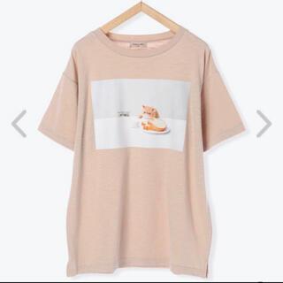 サマンサモスモス(SM2)のサマンサモスモス ねこねこ食パン Tシャツ(Tシャツ(半袖/袖なし))