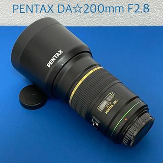 ペンタックス(PENTAX)の◯PENTAX DA☆200mmF2.8美品!◯(レンズ(単焦点))