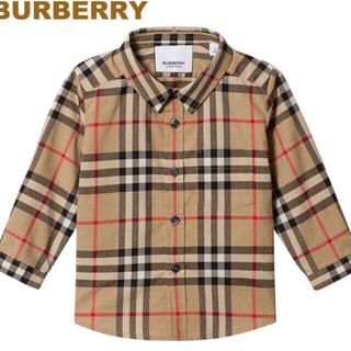 バーバリー(BURBERRY)のBurberry Babyシャツ(シャツ/カットソー)