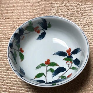 【新品・未使用】有田焼 其泉窯 染錦あおき 盛鉢(食器)