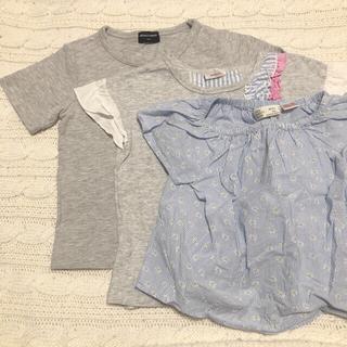 ザラ(ZARA)の[セット売り]Tシャツ3枚セット 女の子(100)(Tシャツ/カットソー)