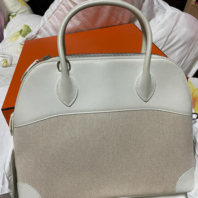 Hermes(エルメス)のボリード×トワル 31 レディースのバッグ(ハンドバッグ)の商品写真