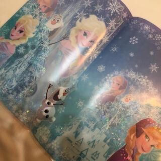 ディズニー(Disney)の【新品未使用】ディズニーランド アナと雪の女王 クリアファイル A4 A3(クリアファイル)