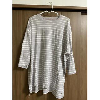 ナイスクラップ(NICE CLAUP)のナイスクラップ ボーダーTシャツ(Tシャツ(長袖/七分))