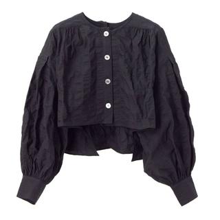 Drawer - ♡machatt2021SS新作♡シャツボレロ ブラック 新品