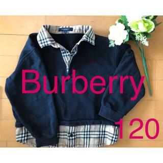 BURBERRY - Burberry バーバリー  トレーナー プチバトー  ラルフローレン