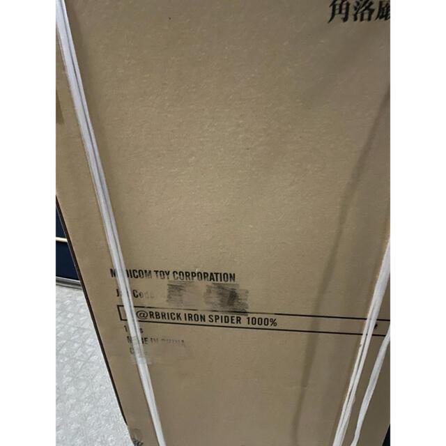 MEDICOM TOY(メディコムトイ)の新品 即発送 1000% be@rbrick iron spider エンタメ/ホビーのフィギュア(その他)の商品写真
