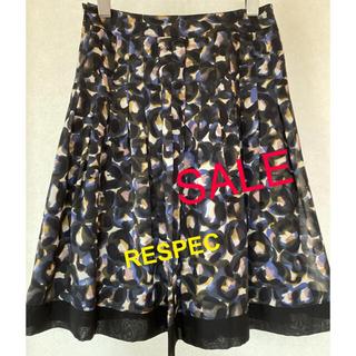 \RESPEC/ レスペック 柄物スカート