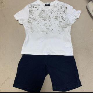 コムサイズム(COMME CA ISM)の【SALE】コムサイズム Tシャツ&ハーフパンツ 120センチ 110センチ(Tシャツ/カットソー)