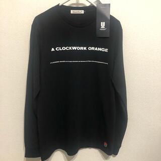 UNDERCOVER - アンダーカバー 時計仕掛けのオレンジ 長袖Tシャツ 黒 クロックワークオレンジ