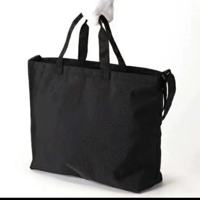 agnes b.(アニエスベー)の新品 アニエスベー ビッグ トートバッグ ショルダーバッグ 2way ブラック レディースのバッグ(トートバッグ)の商品写真