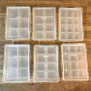 リッチェル(Richell)のリッチェル 離乳食 小分け容器 冷凍保存容器 3種類 6セット(離乳食調理器具)