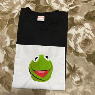 シュプリーム(Supreme)の08ss Supreme kermit tee tシャツ カーミット L 黒(Tシャツ/カットソー(半袖/袖なし))